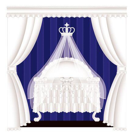 bedroom bed: Classic crib