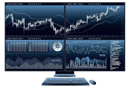 computer afbeelding ... economie