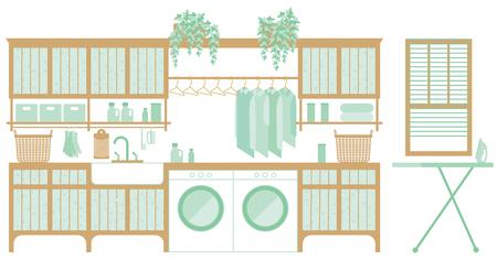 laundry room: Laundry room