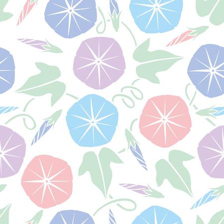 Morning glory pattern Illustration