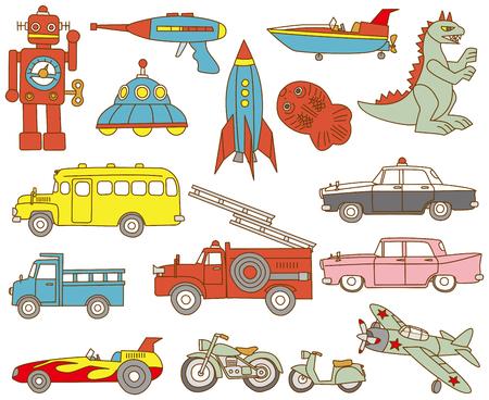 tin: Old tin toys