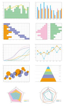 graph chart Illustration