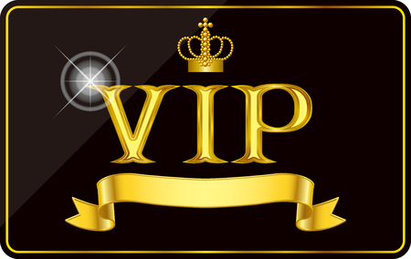 VIP card Illustration