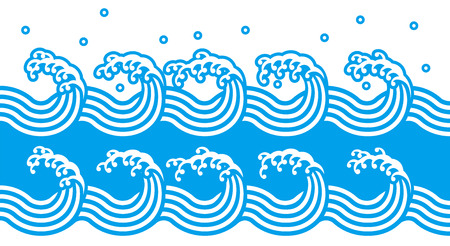 Blue wave Stock Vector - 64847714