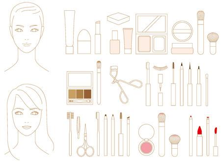 A makeup article. Cosmetics.