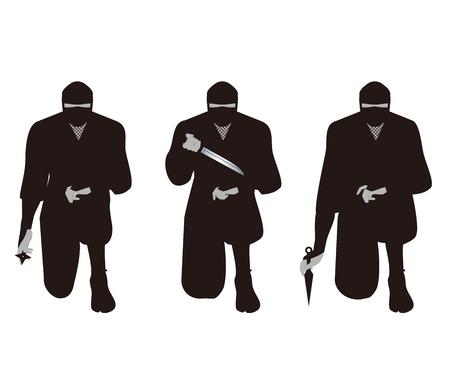 dirk: Ninja. Ninja is that of espionage and intelligence personnel on the history of Japan.