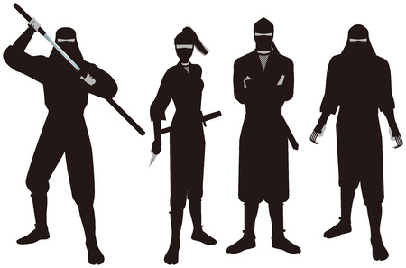 espionage: Ninja. Ninja is that of espionage and intelligence personnel on the history of Japan.