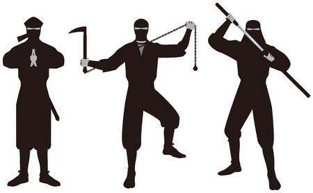 ninja tool: Ninja. Ninja is that of espionage and intelligence personnel on the history of Japan.