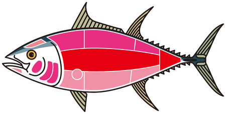 tuna fish: Tuna Fish vector