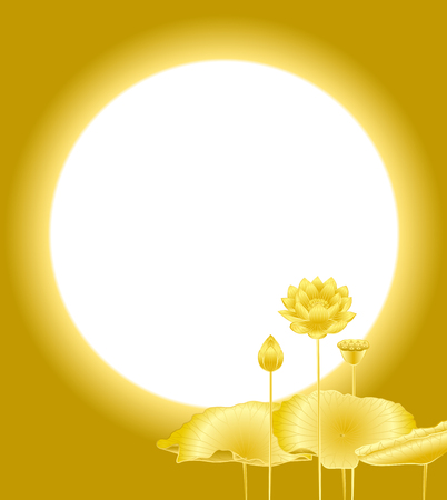 bel air: Lotus flower Illustration