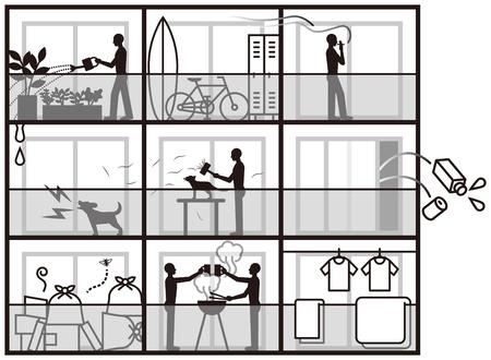 annoyance: Apartments nuisances