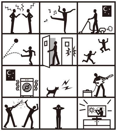 annoyance: Apartment noise