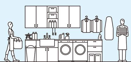 room: Laundry room