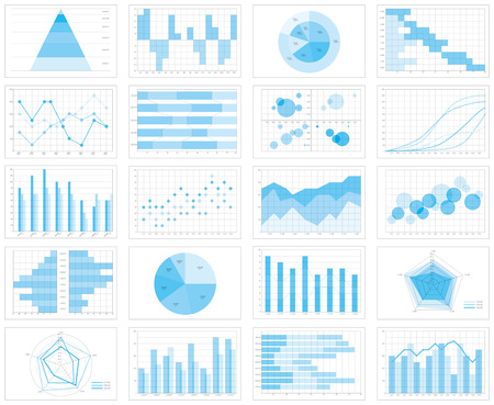 Graph chart Reklamní fotografie - 73687080