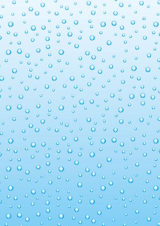 Blue bubbles 向量圖像