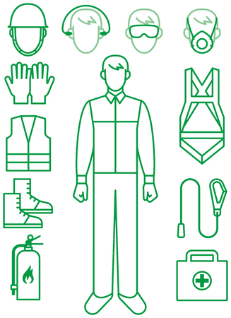 Tools to protect workers Illustration