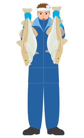 Visserijvisserij kabeljauw