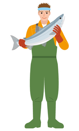 Fisherman Fishing industr Salmon