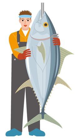 漁師釣り業界マグロ