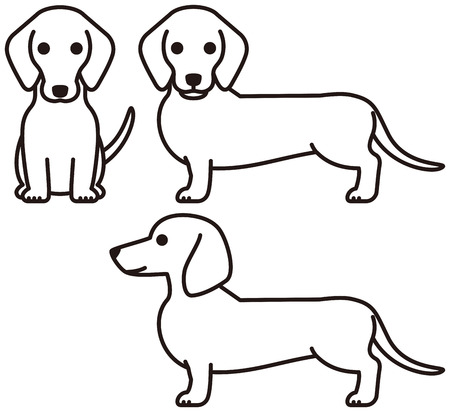 6175 Dachshund Stock Illustrations Cliparts And Royalty Free