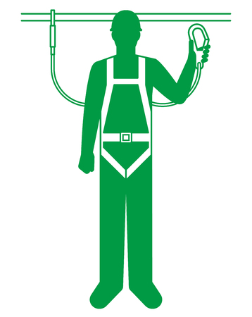 Safety belt for workers
