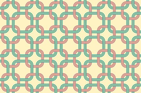 The pattern of honeycomb shape. Japanese traditional patterns. Ilustrace