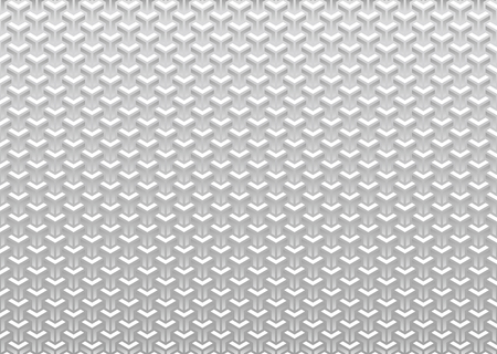Gray Japanese traditional pattern in honeycomb shape.