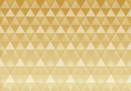 うろこ状のパターン。日本の伝統的なパターン。  イラスト・ベクター素材