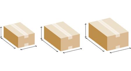 Taille de la boîte en carton