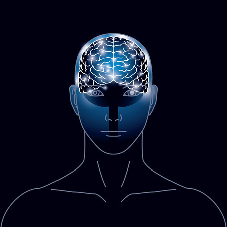 Image of brain electrical signal