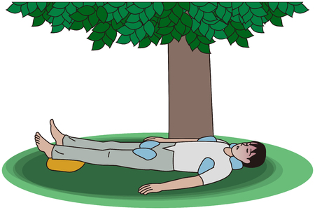 First aid for heat stroke