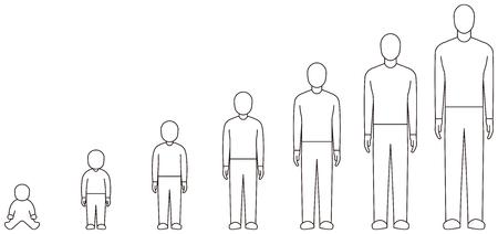 Male growth process