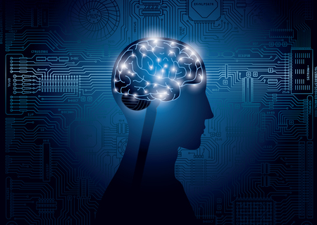 Bild der künstlichen Intelligenz, Technologie
