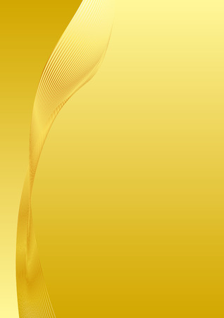 Gold background line background material Stock Illustratie
