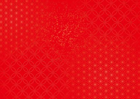 Japanese style background material of traditional pattern.