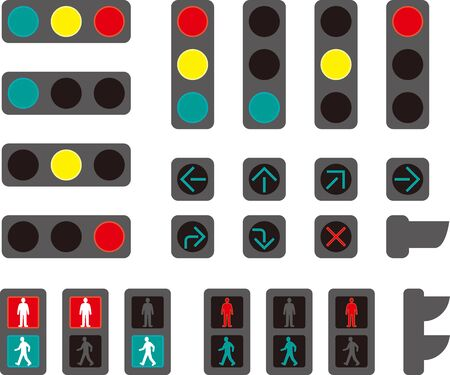 Horizontal Vertical Traffic Light / Pedestrian Traffic Light / Arrow Traffic Light (Japan)