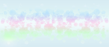 sparkly: Gentle multicolored bokeh sparkly website headerbanner Stock Photo