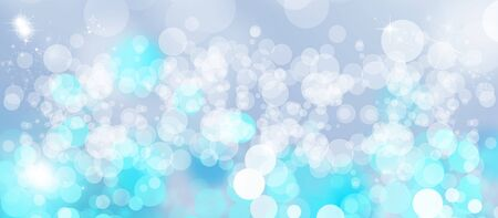 Gentle multicolored bokeh sparkly website headerbanner photo