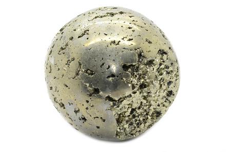 pyrite: Pyrite sphere