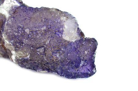 fluorite: Deep violet Fluorite