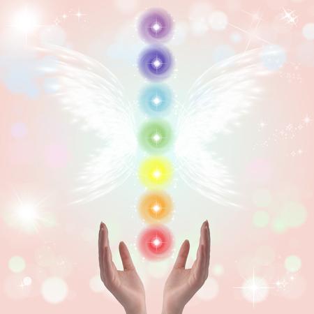universal healer: Healing hands and seven chakras