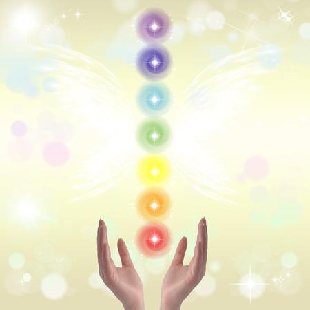 SELF HEALING: Healing hands and seven chakras