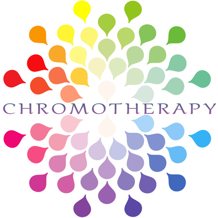 universal healer: Chromotherapy colour spectrum Logo