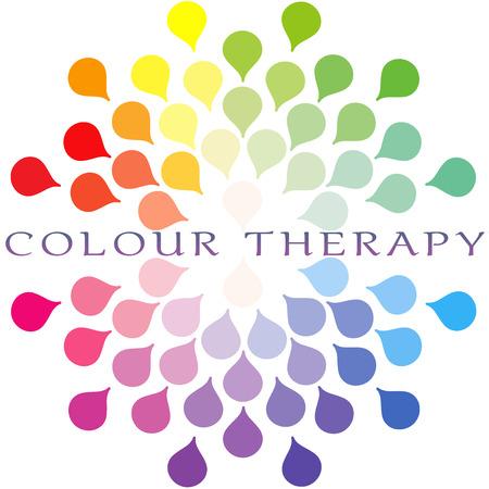 universal love: Cromoterapia espectro de colores del logotipo