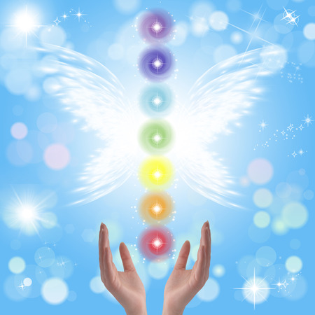 self awareness: Healing hands and seven chakras