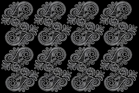 Abstract pattern  Seamless floral background  Vector Stock Vector - 12763763
