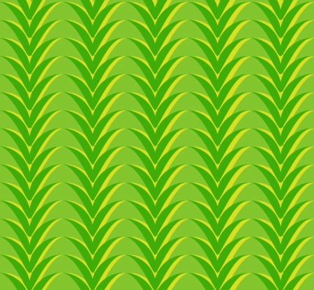 Seamless geometric pattern with vegetable green zigzags