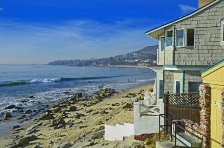 Beach Scene California Stockfoto