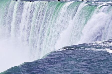 Waterfall Niagra Canada Stock Photo