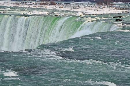 Water Fall Niagra Winter